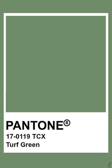 Pantone Turf Green