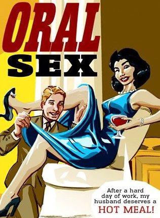 Oral sex adult comic