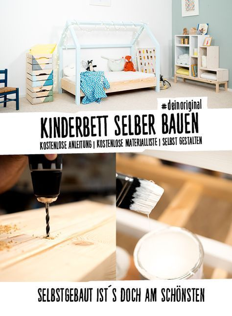 Kinderbett Moritz Selber Bauen Kindermobel Hausbett Kinder Bett Kinderbett
