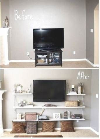Super Living Room Ideas On A Budget Awesome Small Spaces 65 Ideas Diy Entertainment Center Small Bedroom Diy Entertainment Center