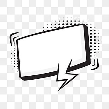 Comic Speech Bubbles On Halftone Transparent Background Balloon Black Blank Png And Vector With Transparent Background For Free Download Halftone Transparent Background Bubbles