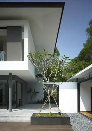 Modern Flat Roof Box Bungalow House Design Ideas - ArchInspire