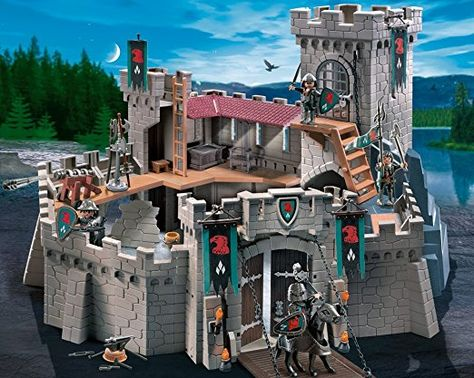 Amazon De Playmobil 4866 Raubritterburg Playmobil Ritterburg Playmobil Ritter Playmobil Knights Products Pl Playmobil Playmobil Ritterburg Playmobil Ritter