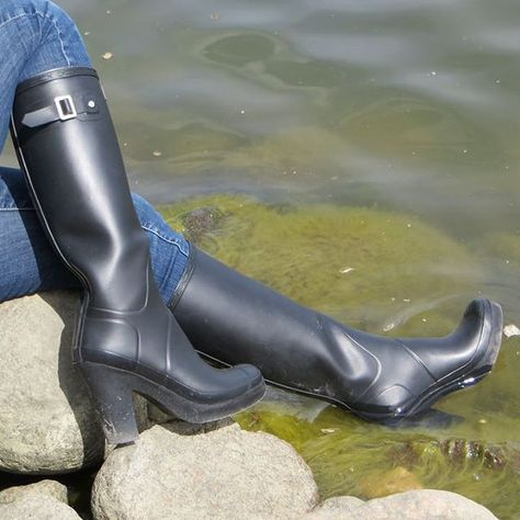 Wellies with style!