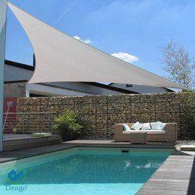 Yescom 16 5 Triangle Patio Canopy Cover Uv Blocking Sun Shade Sail Walmart Com Walmart Com In 2020 Pergola Shade Sail Patio Canopy