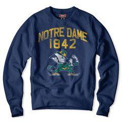 Notre Dame Irish Sweatshirt! I am a huge fan so I want this!
