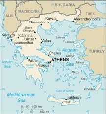 Map Of Kythira Near Greece In English Google Search Greece