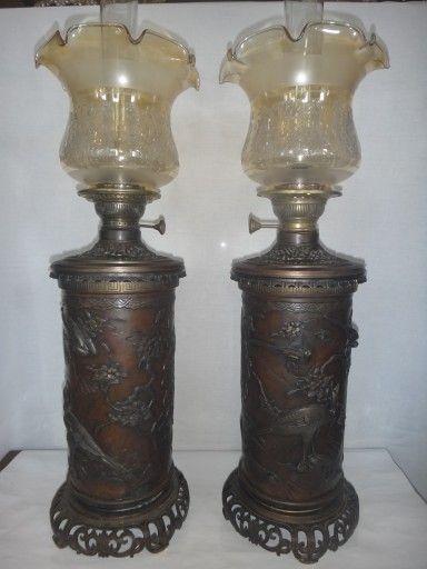 Old Kerosene Lanterns For Sale   antique aladdin model 6