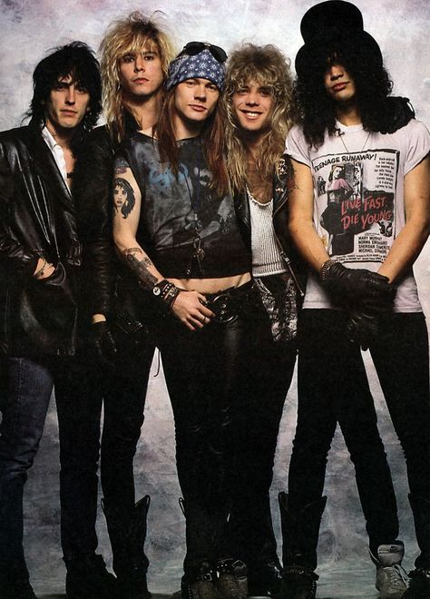 slash Guns N Roses axl rose Izzy Stradlin duff mckagan Steven Adler - Modern Axl Rose, Slash Guns N Roses, Guns And Roses, Freddie Mercury, Dave Matthews Band, Mark Knopfler, Mark Ruffalo, Texture Rock, Roses Quotes