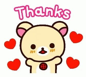 So Grateful For My Hubby Archie My Son Shaun And My Grandson Sj For Treating Me And Beautiful Daughter Mina To A Special Rilakkuma Line Sticker Thankful