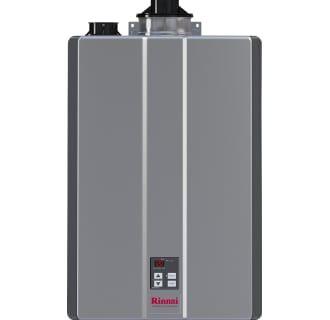 Rinnai Ru199in Silver Sensei 11 Gpm 199000 Btu 120 Volt Residential Natural Gas Tankless Water Heater For Indoor Installation Tankless Water Heater Water Heater Tankless Water Heater Gas