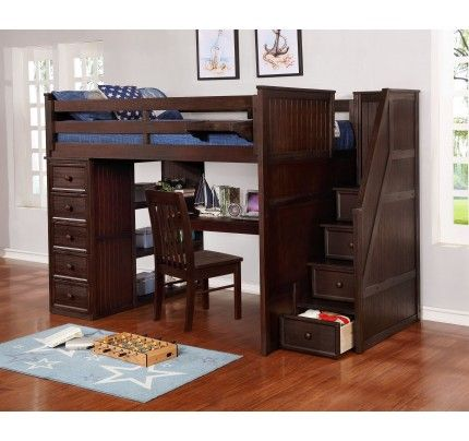 Beds Factory Bunk Beds In 2020 Loft Bed Bed Desk Twin Size Loft Bed