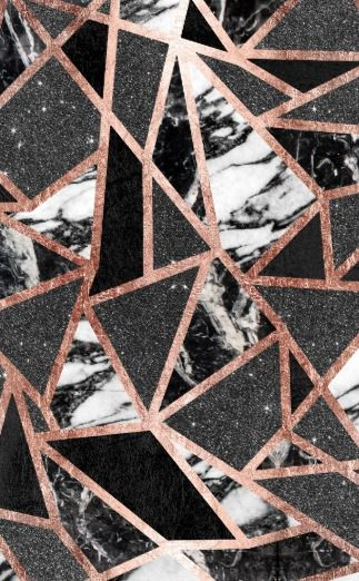 Modern Rose Gold Glitter Marble Geometric Triangle Car Mat Gold Wallpaper Iphone Rose Gold Wallpaper Gold And Black Wallpaper