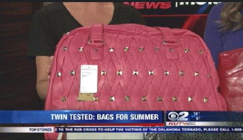 Twin Tested: Summer Bags