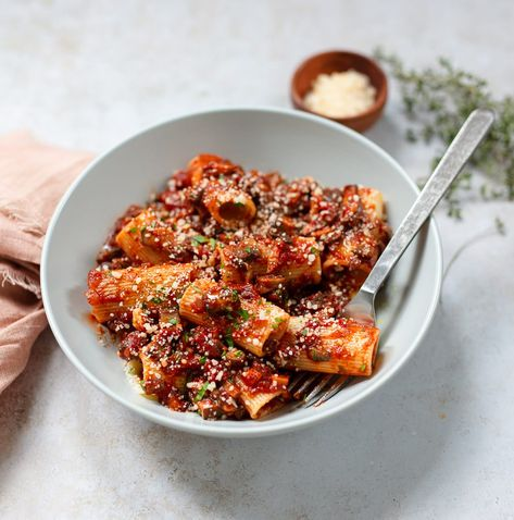 Mushroom Bolognese Pasta Opskrift