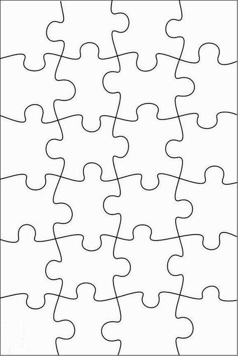 RobbyGurl's Creations: DIY Print, Color & Cut Jigsaw Puzzles
