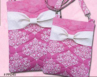 Bella Bow Crossbody Bags Pickle Pie Designs