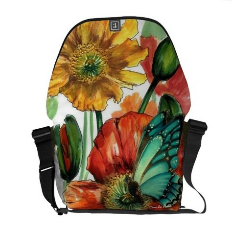 Butterfly Scatter Therapist Bag
