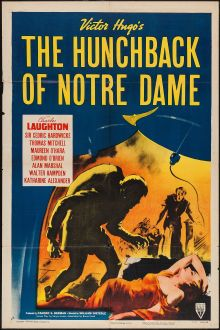 Movie Posters:Horror, The Hunchback of Notre Dame (RKO, R-1952). Horror.. ...