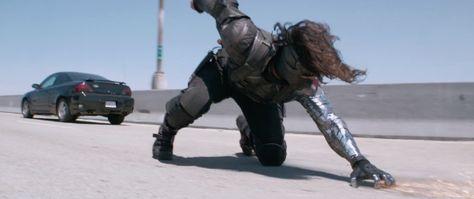 Captain America The Winter Solider Screenshot Metal Arm