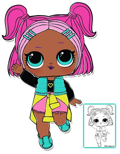 Pin By Hakki Oruc On Emin Lol Dolls Free Coloring Pages Doll Party