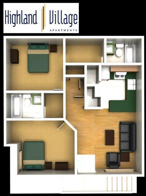 Highland Village Apartments 2 Bedroom