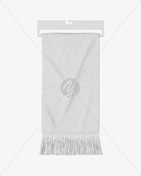 Download Hanging Fan Scarf Mockup Top View In Apparel Mockups On Yellow Images Object Mockups Clothing Mockup Design Mockup Free Mockup Free Psd