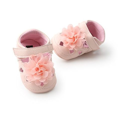 UK Toddler Infant Baby Girls Princess Shoes  Anti-slip Soft Leater Shoes Sneaker