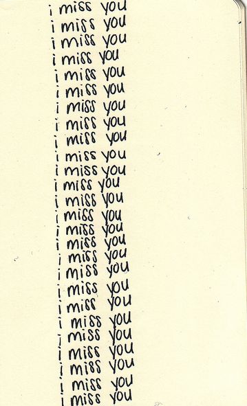i miss you too, baby, so much *twinkle*