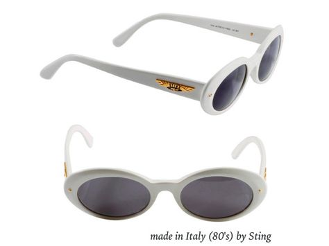 b1b2115877406 Sting sunglasses made in Italy in the 1980s. Add a rare and unique  accessory to your look. This is not a replica! 100% original