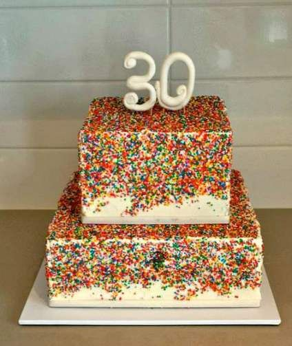 Birthday Cake Ideas For Her Awesome 38 Best Ideas 30 Birthday Cake 30th Birthday Cakes For Men Cool Birthday Cakes
