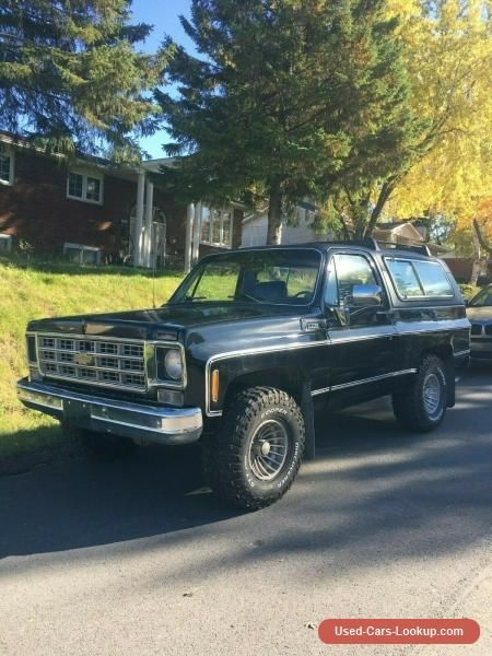 Car For Sale Chevrolet Blazer Cheyenne