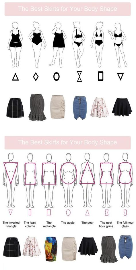 Best skirts for your body type