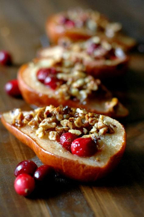 Cranberry Baked Pears Recipe