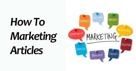 How To Marketing Articles   Niche PLR Blogs