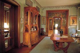 Art Nouveau Et Jugendstil Courants Artistiques Et Litteraires De 1880 A 1920 La Villa Majorelle A Nancy Interieur Art Nouveau Meubles Art Nouveau Art Nouveau