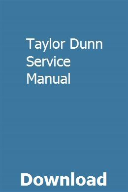 taylor dunn wiring diagram pdf taylor dunn service manual repair manuals  farmall m  manual  taylor dunn service manual repair