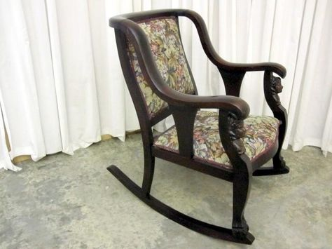 61 Antique Rocking Chair With Carved Face - Antique Rocking Chair With Carved Face - Best 2000+ Antique Decor
