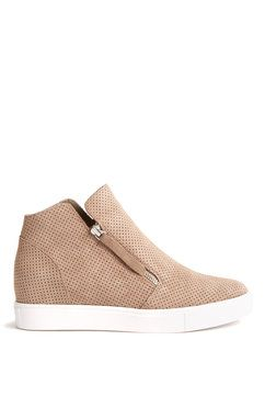 Steve Madden Taupe Suede Caliber