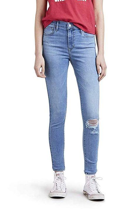 36f1290d31156 Levi s Women s 720 High Rise Super Skinny Jeans