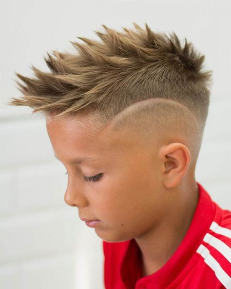 Spiky Fohawk and Disconnected Undercut