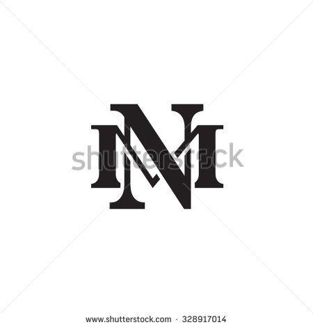 حرف م الحديث سرعة الأشكال ناقلات تصميم شعار Lettering Logo Design Design