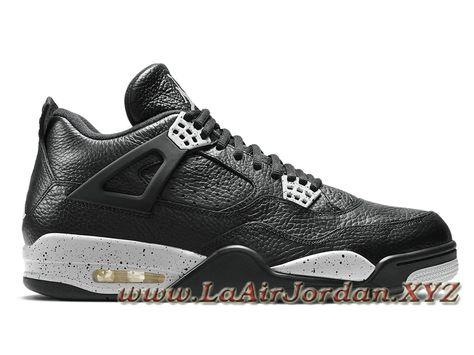separation shoes a1d30 9316d Air Jordan 4 IV Retro Tech Grey  Oreo  705331-003 Chaussures NIke Jordan  Pour Homme Noir Grey