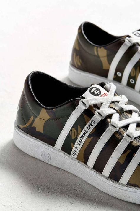 watch 18120 102b3 httpSneakersCartel.com AAPE X K-Swiss Classic 66 (via UO) sneakers shoes