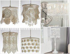 Lampshade Diffuser Lamp Shade Lace Lampshade Lamp