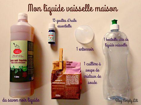 Single Post Liquide Vaisselle Produit De Nettoyage Faits Maison Recettes Naturelles Pour Nettoyage