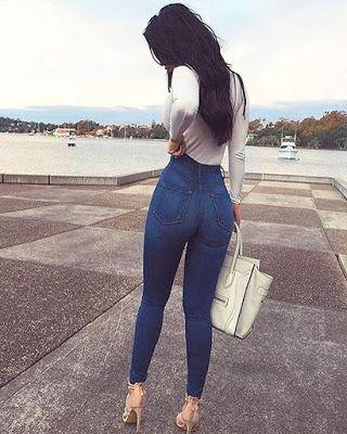 Ideas De Outfits Con Jeans Tiro Alto High Waisted Jeans Vintage Fashion Outfits Con Jeans