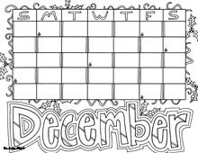 FREE printable perpetual doodle Calendar Coloring Pages ...