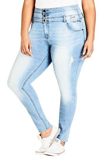 POPTIME Women/'s Butt-Lifting Skinny Jeans High-Rise Waist Brazilian Style