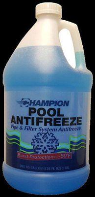 Pool Chemicals and Clarifiers 181058: Swimming Pool Winter ...